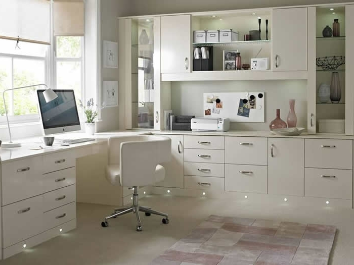 Fitted Kitchens Bathrooms East Kilbride In Trendy Fitted Home Office Furniture (View 8 of 15)