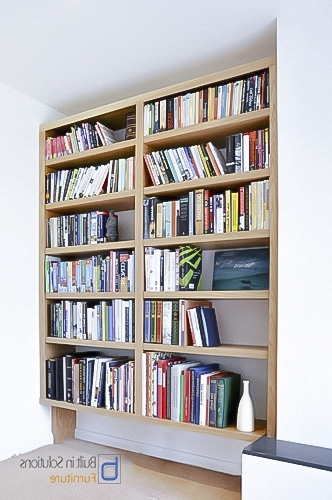 Fitted Shelves With Regard To Newest Built In Bookcases For Your Book Collection (View 9 of 15)