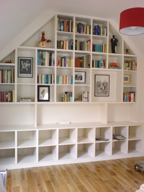Fitted Shelves Within Current Shelving & Bookcases – Richard Sothcott Brighton Carpentry (View 15 of 15)