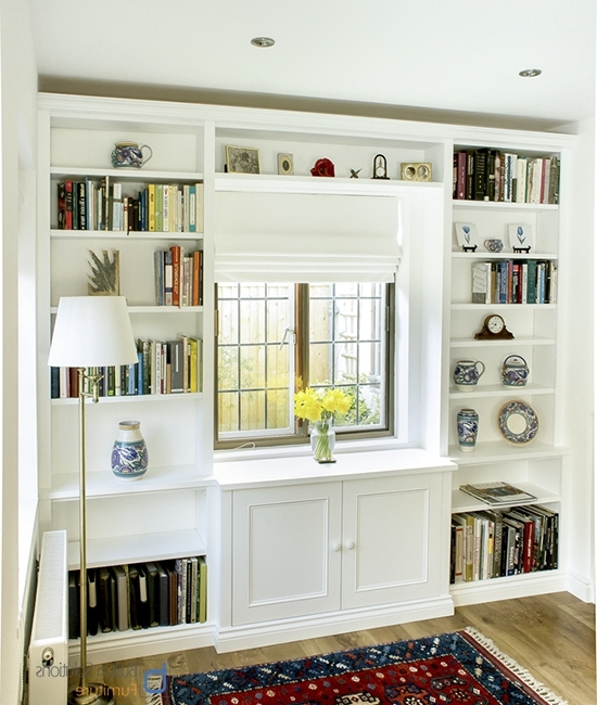 Fitted Shelving For Famous Gorgeous Built In Cupboards In Your Living Room (View 4 of 15)
