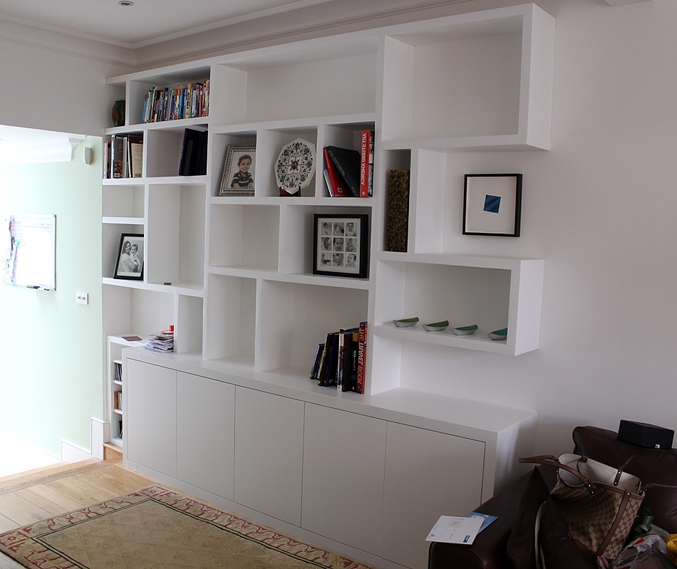 Fitted Shelving Systems Regarding Latest Fitted Wardrobes, Bookcases, Shelving, Floating Shelves, London (View 5 of 15)