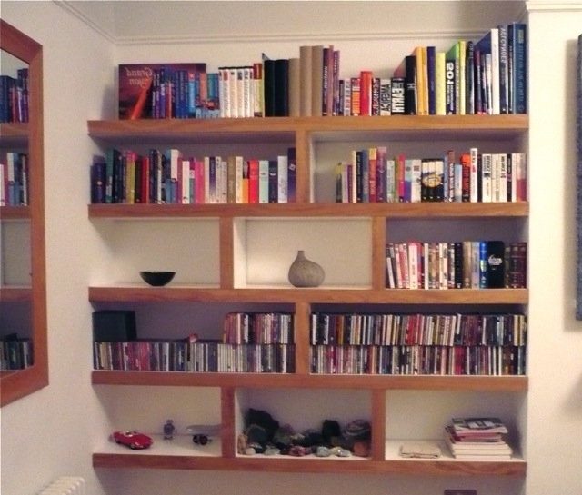 Fitted Shelving With Most Recent Fitted Shelving Photo – Richard Sothcott Brighton Carpentry (View 14 of 15)