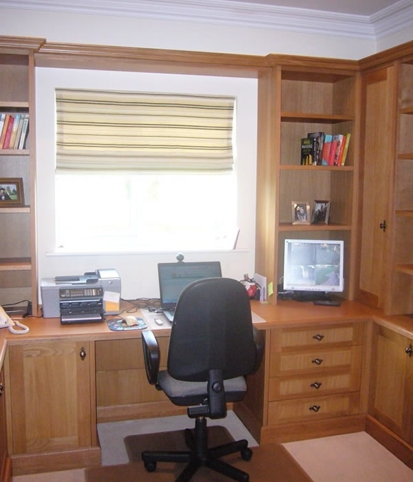 Fitted Study Furniture (View 6 of 15)