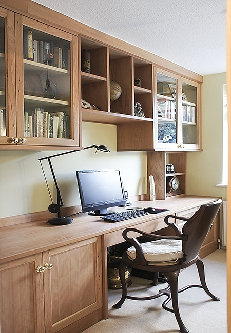 Fitted Study Furniture Within Favorite Fitted Home Study Furniture (View 8 of 15)