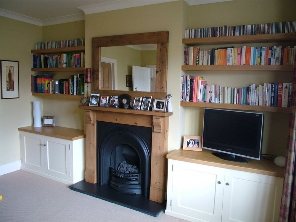 Fitted Wardrobe + Alcove Cabinets & Shelves – Carpentry & Joinery Intended For Fashionable Fitted Shelving Systems (View 11 of 15)