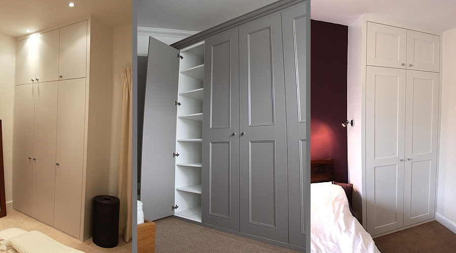 Fitted Wardrobes And Bookcases In London, Shelving And Cupboards Throughout Well Liked Bespoke Cupboard (View 11 of 15)