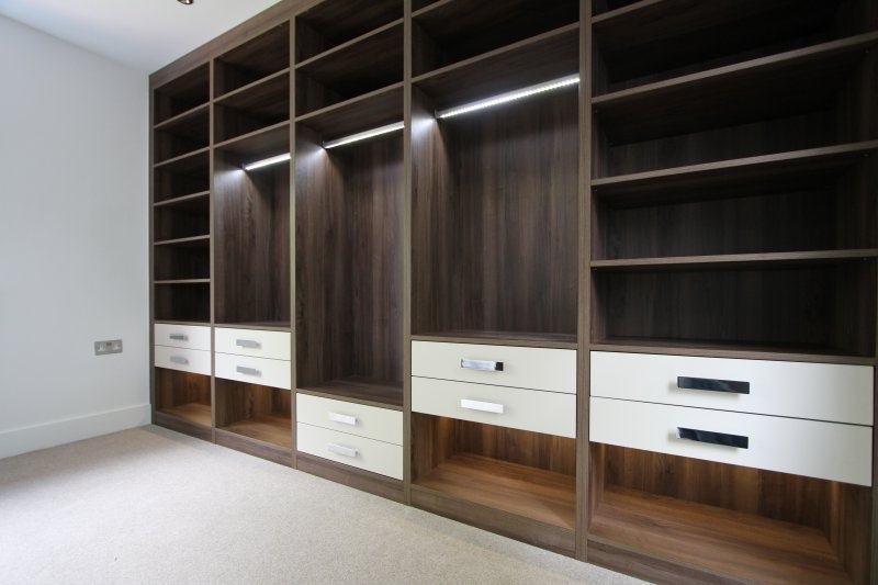 Fitted Wardrobes & Bedroom Furniture – London Bespoke Interiors Inside Most Up To Date Fitted Cabinets (View 10 of 15)