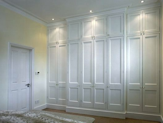 Fitted Wooden Wardrobes In Well Known Wardrobes ~ Mirror Sliding Door Wardrobe With Compartments New (View 14 of 15)