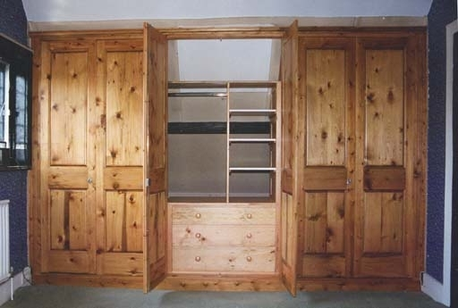 Fitted Wooden Wardrobes Pertaining To Most Up To Date Sustainable Solid Wood Bedroom Furniture (View 15 of 15)