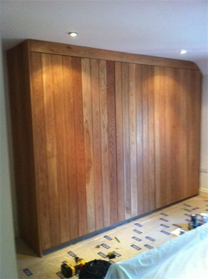 Fitted Wooden Wardrobes Within Popular Fitted Wardrobes – The Rutland Workshop (View 6 of 15)