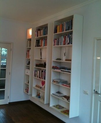 Floating Bookcases In Most Up To Date Float Ikea Bookcases For Maximum Shelf Space With Zero Footprint (View 2 of 15)