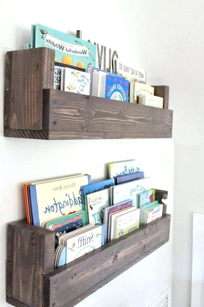 Floating Bookcases Mounted Book Shelf Floating Bookshelves Display In Most Recent Floating Bookcases (View 14 of 15)