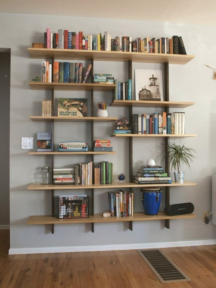 Floating Bookcases With Fashionable Bookshelves – Google Search (View 4 of 15)