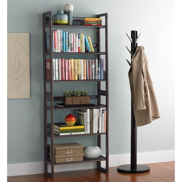 Free Standing Book Shelf Regarding Most Recently Released Free Standing Bookshelf – Lippy Home (View 4 of 15)