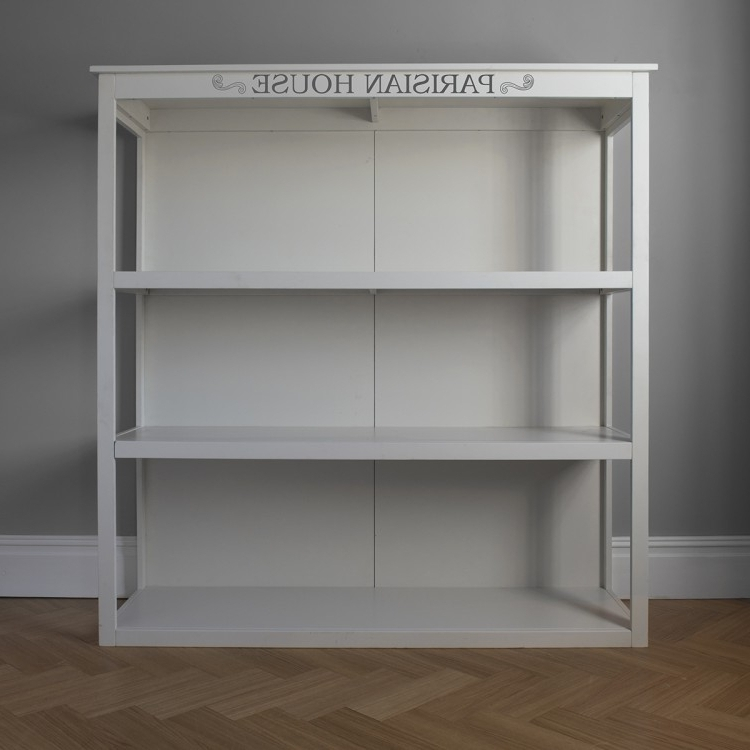 Free Standing White Shelves With Latest Buy Hudson Living White Floor Standing Shelf Unit Online – Cfs Uk (View 9 of 15)