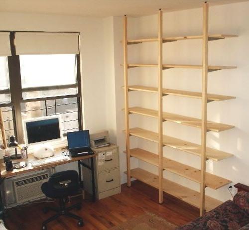 Freestanding Bookshelves Regarding Most Recent 7 Best Pole Shelf Images On Pinterest (View 6 of 15)