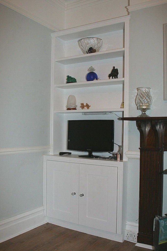 Front Rooms For Newest Bookcases With Cupboards (View 14 of 15)