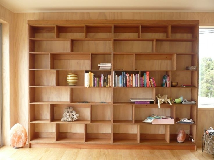 Full Wall Shelving Units In Well Known Walnut Veneered Shelving Unit Wall Shelving Unit Shelving Units (View 3 of 15)