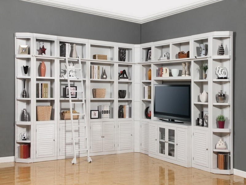 Full Wall Shelving Units Pertaining To Latest Elegant In Wall Shelving Units Wall Shelves Design Modern Design (View 4 of 15)