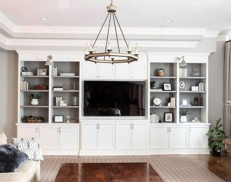 Full Wall Shelving Units With Newest Wall Shelf Ideas For Living Room Unique Wall Units Awesome Full (View 7 of 15)