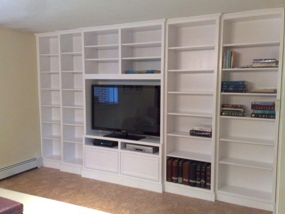 Full Wall Shelving Units With Regard To 2017 Built In Wall Shelving Units Built In Wall Unit Designs Built Wall (View 8 of 15)
