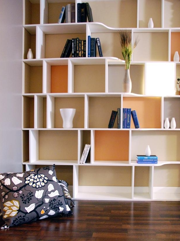 Functional And Stylish Wall To Wall Shelves (View 6 of 15)