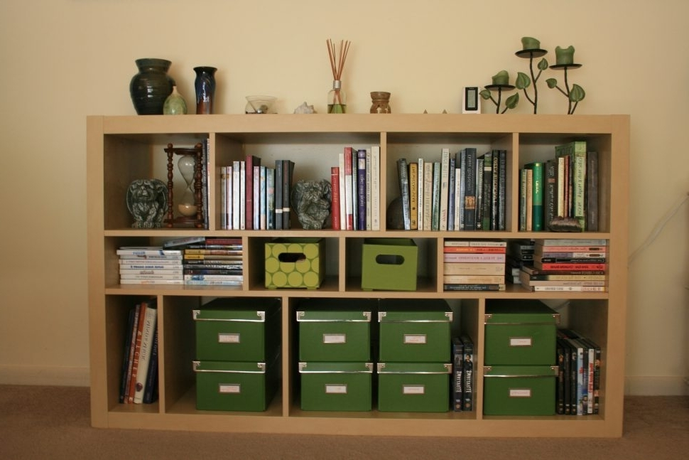 Furniture : Black Bookcase With Glass Doors Black Bookshelf With With Most Current Horizontal Bookcases (View 4 of 15)