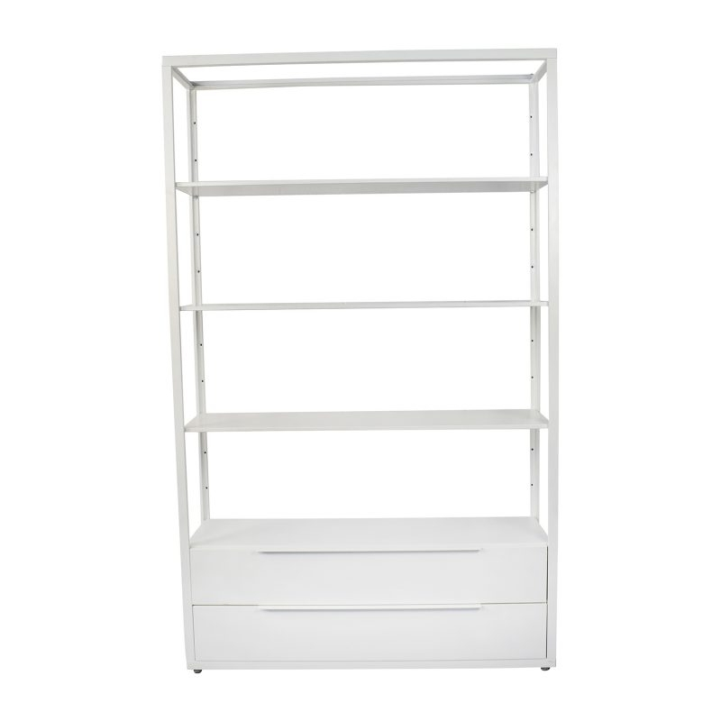 Furniture Home: Tomnäs Shelving Unit White (View 3 of 15)