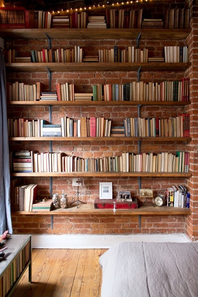 Genius For A Better Looking Bookshelf.might Need An Alternative Inside Newest Bookshelves (Gallery 1 of 15)