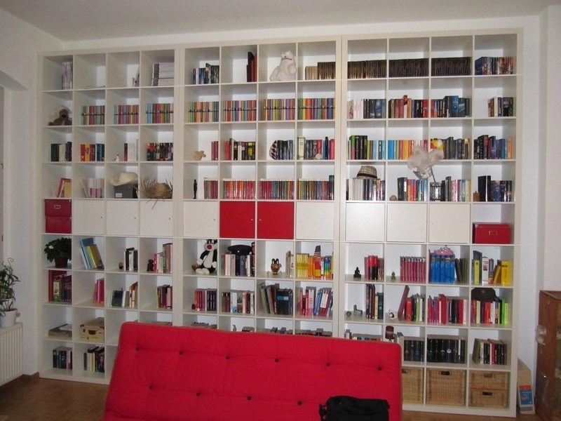 Gigantic Expedit Bookcase – Ikea Hackers Intended For Well Liked Expedit Bookcases (View 10 of 15)