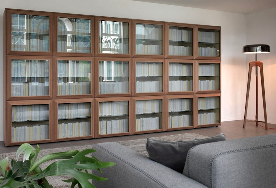 Glass Bookcases In Current Designing For Book Lovers: Bookshelves – Core (View 4 of 15)