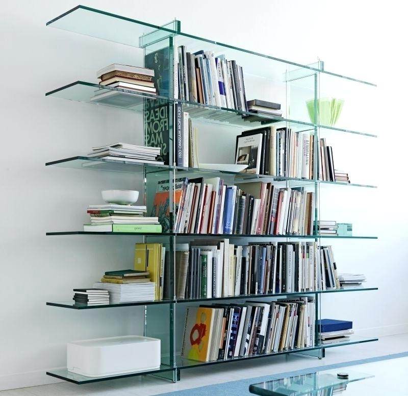 Glass Bookcases Regarding Recent Glass Covered Bookcase View In Gallery X Motif Custom Designed (View 8 of 15)