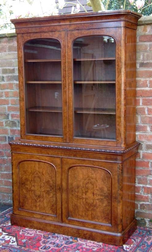 Glazed Bookcases For Widely Used Antique Bookcase (View 13 of 15)