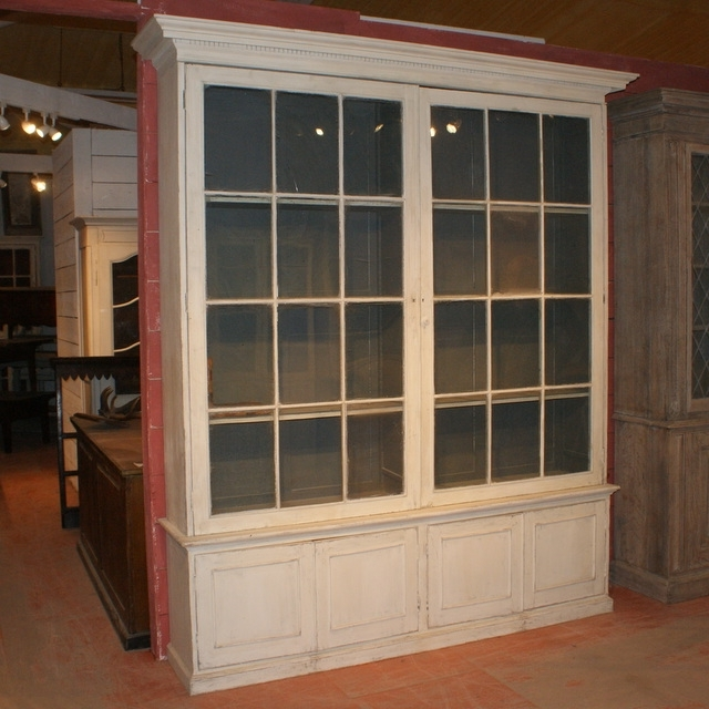 Glazed Library Bookcase – Antique Bookcases Regarding Current Glazed Bookcases (View 8 of 15)