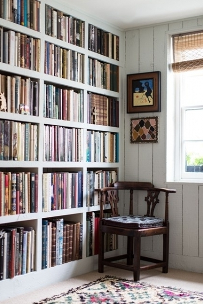 Graduated Sized Bookshelves Rebecca Hossack Bookshelves Ideas In Favorite Fitted Book Shelves (Gallery 7 of 15)