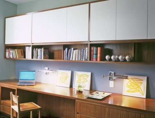 Great Clean Lineslike The Top Cupboards To Hide The Clutter In Most Recent Study Shelving Ideas (View 9 of 15)
