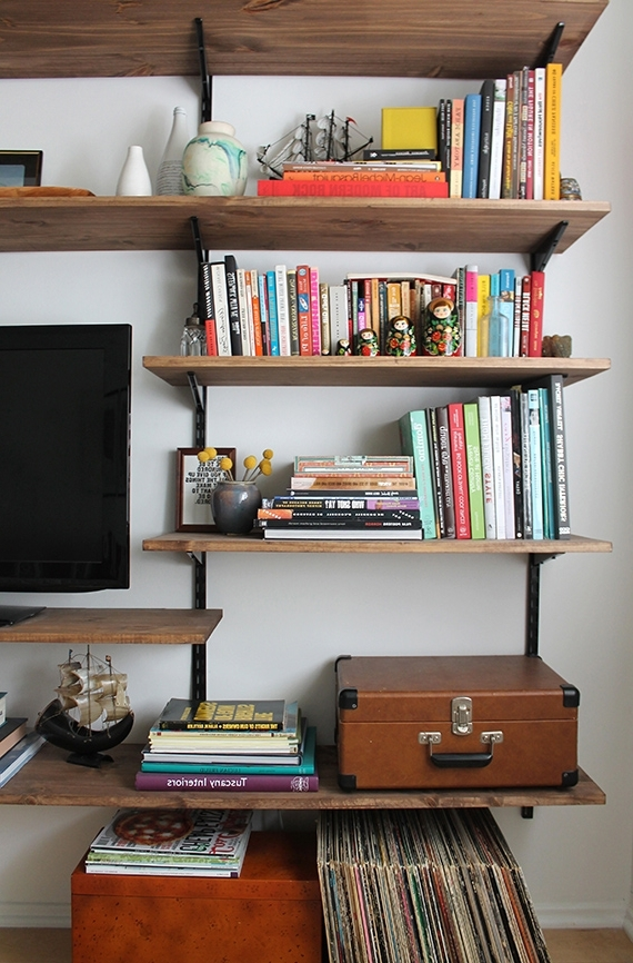 Guide Patterns Regarding Build Bookcases Wall (View 15 of 15)