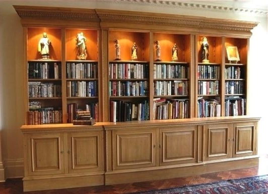 Hallidays – Libraries & Bookcases Within Recent Large Bookcases (View 6 of 15)