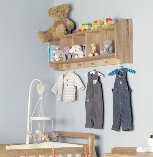 Hampshire Furniture With Regard To Oak Wall Shelving Units (View 6 of 15)