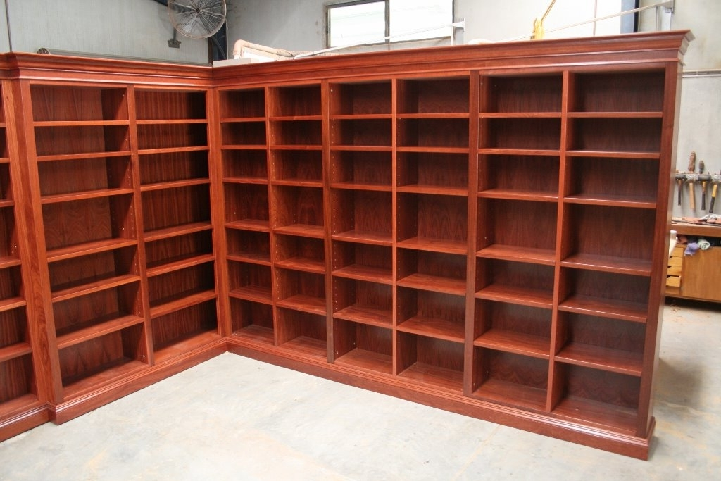 Hand Made Timber Furniture Within Most Popular Handmade Bookcases (Gallery 5 of 15)