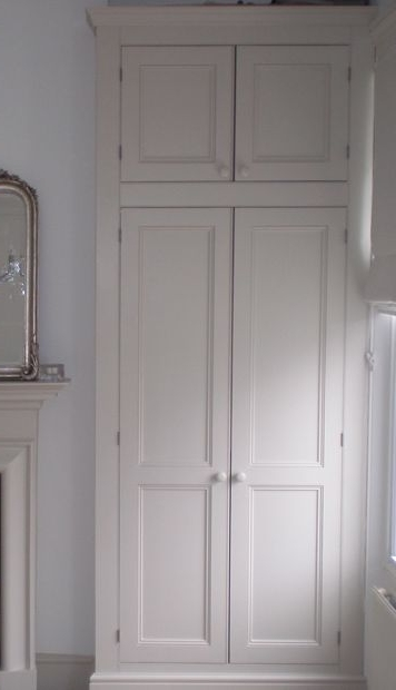 Handmade Cupboards Inside Most Current Fitted Wardrobes / Cupboards For Nat's Room (Gallery 2 of 15)