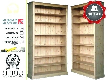 Heavy Duty Bookcases In Widely Used Heavy Duty Bookcase 8 Heavy Duty Bookcase With Reinforced Shelves (Gallery 8 of 15)