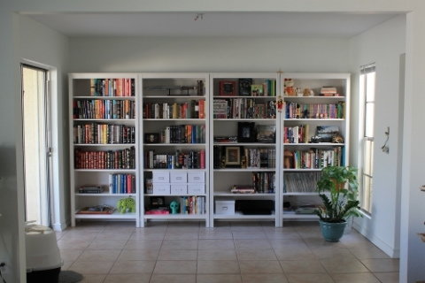 Hemnes Bookcases In Recent Hemnes Bookcase Wall After – Interior Candy (View 4 of 15)