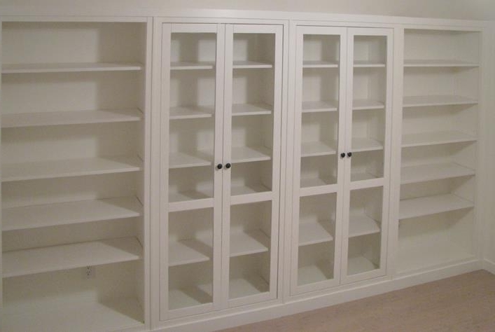 Hemnes Bookcases Within Widely Used Hemnes Bookshelves Built In Hack! – Ikea Hackers (View 6 of 15)