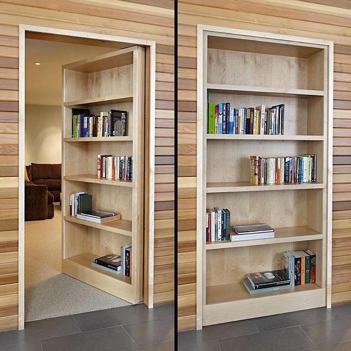 Hidden Bookcase Door Best Hidden Door Bookcase Ideas On Secret Throughout Most Recent Secret Door Bookcases (View 5 of 15)