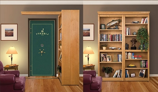 Hidden Door Bookcases Pertaining To Most Up To Date Bookcase Doors – Specialty Doors And Hardware (Gallery 15 of 15)
