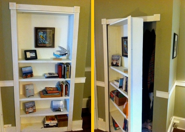 Hidden Door Bookcases Within Most Popular Ideas Of Hidden Door Bookcase With Concealed Doors Bookcases I Am (View 14 of 15)