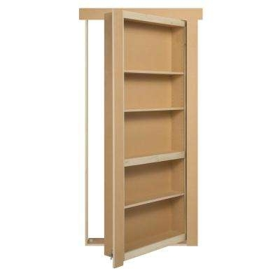 Hidden Doors – Interior & Closet Doors – The Home Depot Regarding Newest Hidden Door Bookcases (View 13 of 15)