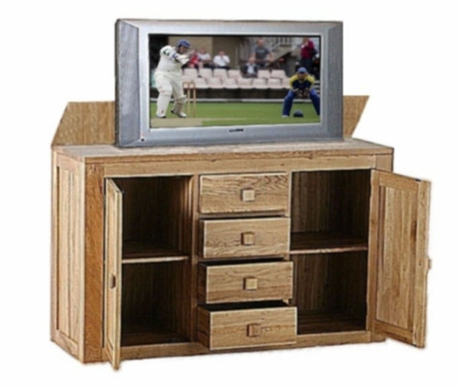 Hidden Tv Units Pertaining To Newest Tv Lift (View 5 of 15)