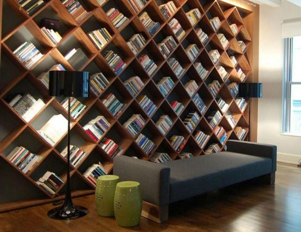 Home Libraries: 25 Stunning Design Ideas Inside Recent Library Shelves For Home (Gallery 14 of 15)